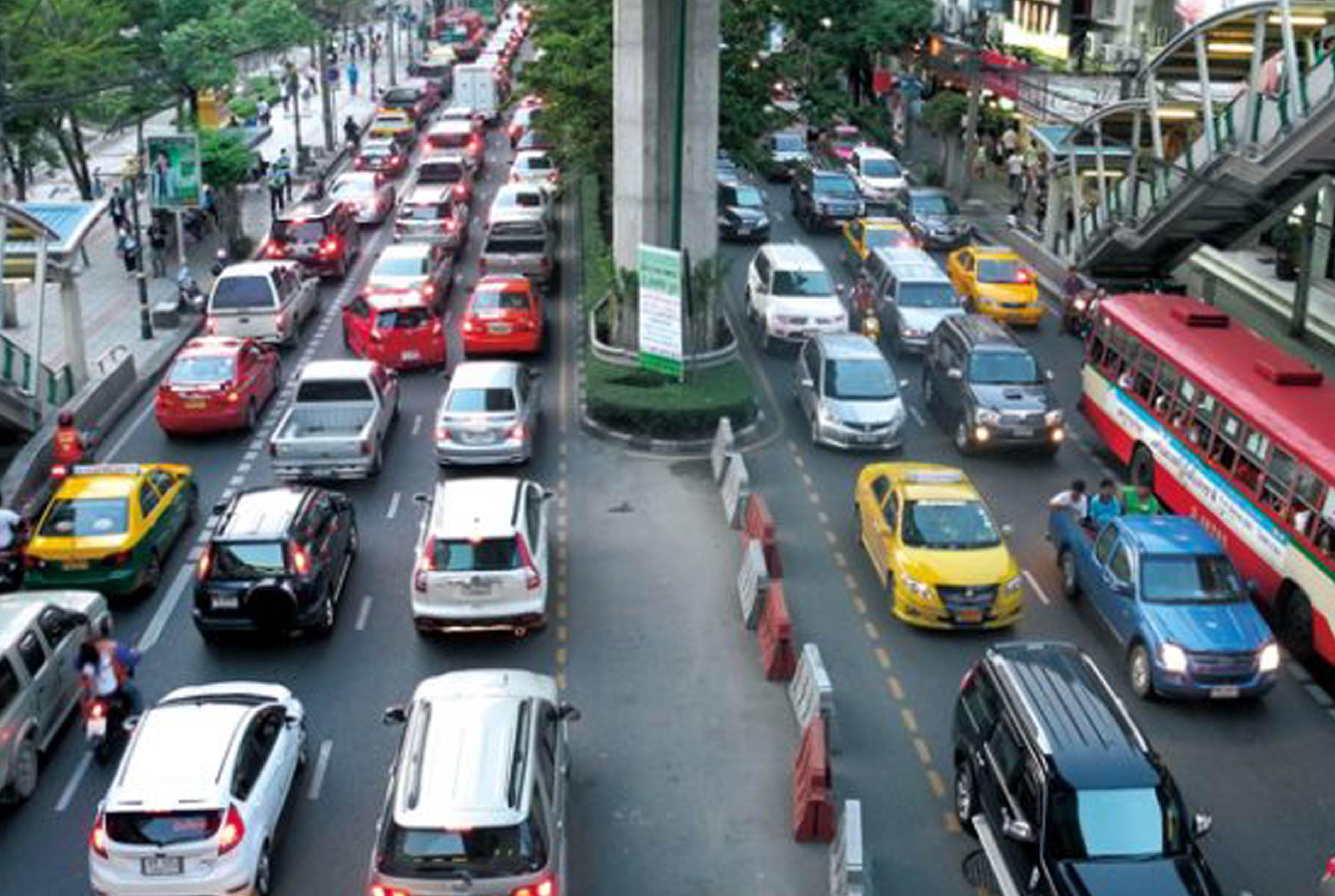 バンコクは渋滞都市、世界1位の理由とは? - ワイズデジタル【タイで生活する人のための情報サイト】