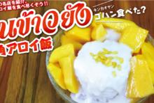 【第35食】夏本番にぴったりタイの名物スイーツ