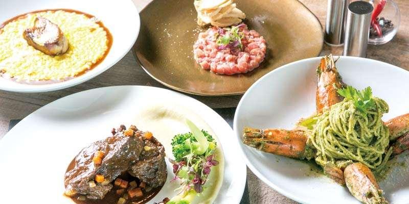 Bella Roccaは「美しい岩石」という意味を持つ。シンプルかつ強さのある本格イタリア料理を提供する