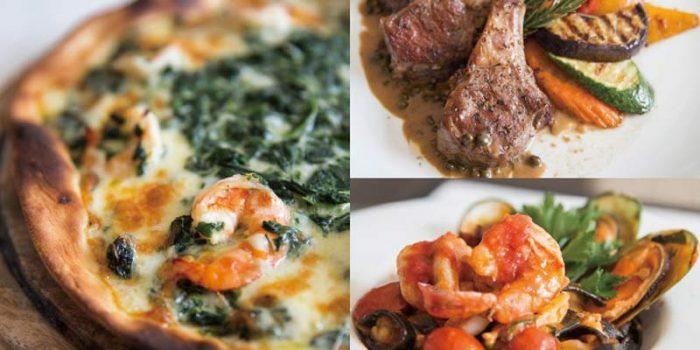 イタリア人シェフが生み出す料理の数々は、本場の味を忠実に再現