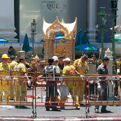 バンコク爆発事件経過。8月17日〜21日までの時系列の流れ