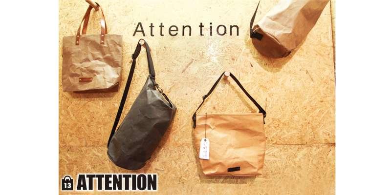 トートやメッセンジャーなど、シンプルでおしゃれなバッグが揃います(左から590B、490B、550B、490B)