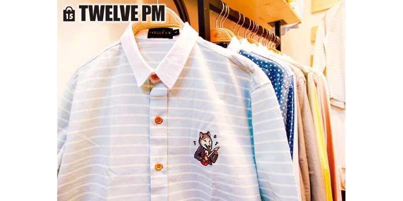 最新コレクションのオックスフォードボーダーシャツ。ユニセックスで男女ともOK!(1枚750B〜)