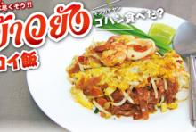 【第115食】麺のモチモチ感が抜群 栄養満点のパッタイ