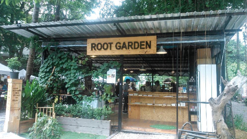 ROOT GARDENの入口