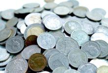 大量の小銭をお札に両替する方法