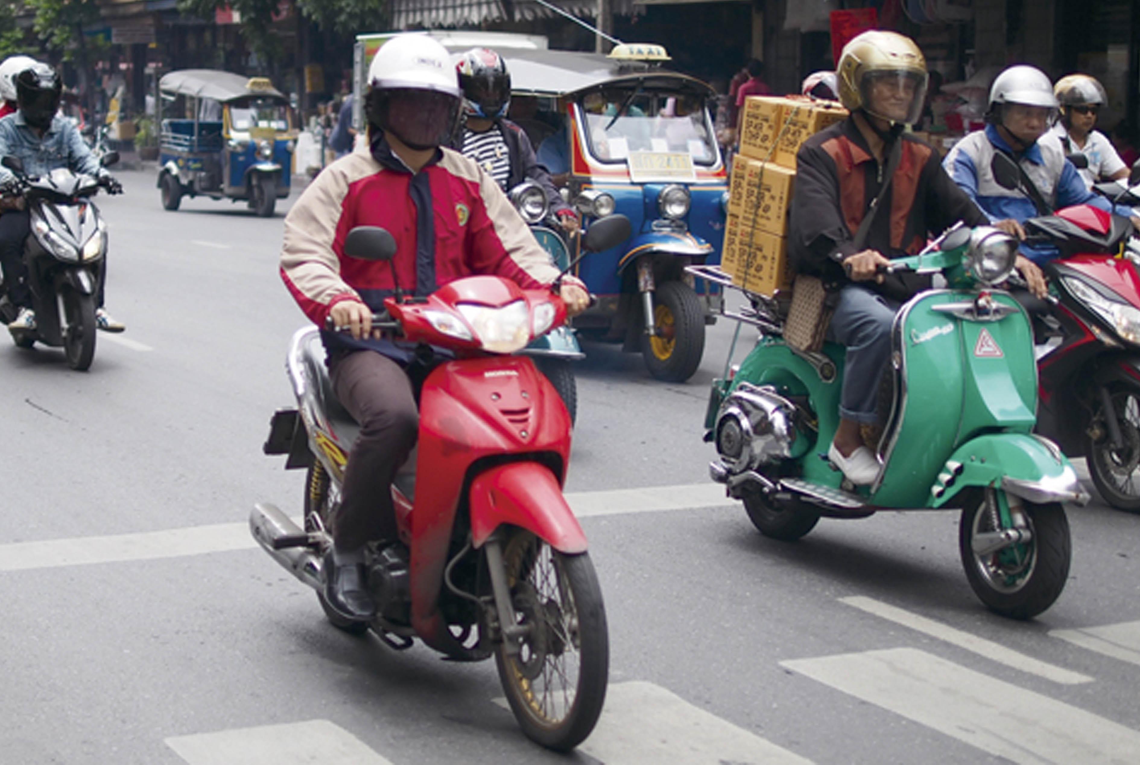 バイクの陸橋・トンネル通行一部禁止に - ワイズデジタル【タイで生活する人のための情報サイト】