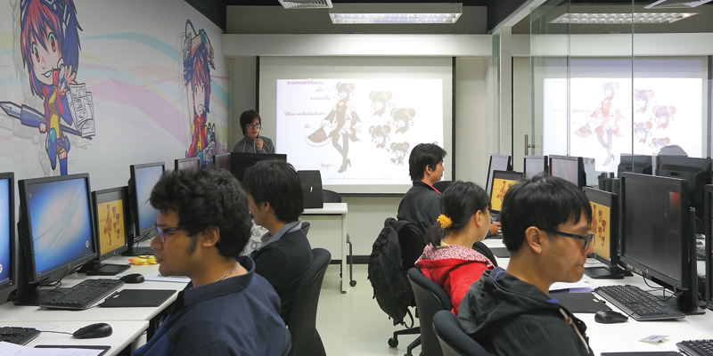 KADOKAWA Animation & Design School - ワイズデジタル【タイで働く人のための情報サイト】