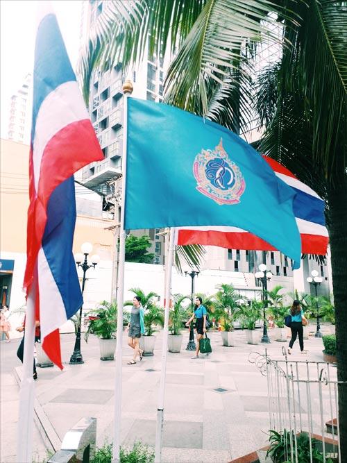 王族の祝日に飾られる旗について教えてください - ワイズデジタル【タイで生活する人のための情報サイト】
