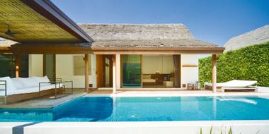 プライベートプール付きの「Pool Villa」