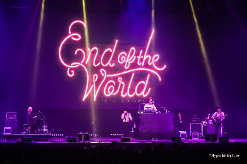 End of the Worldとして世界で勝負する