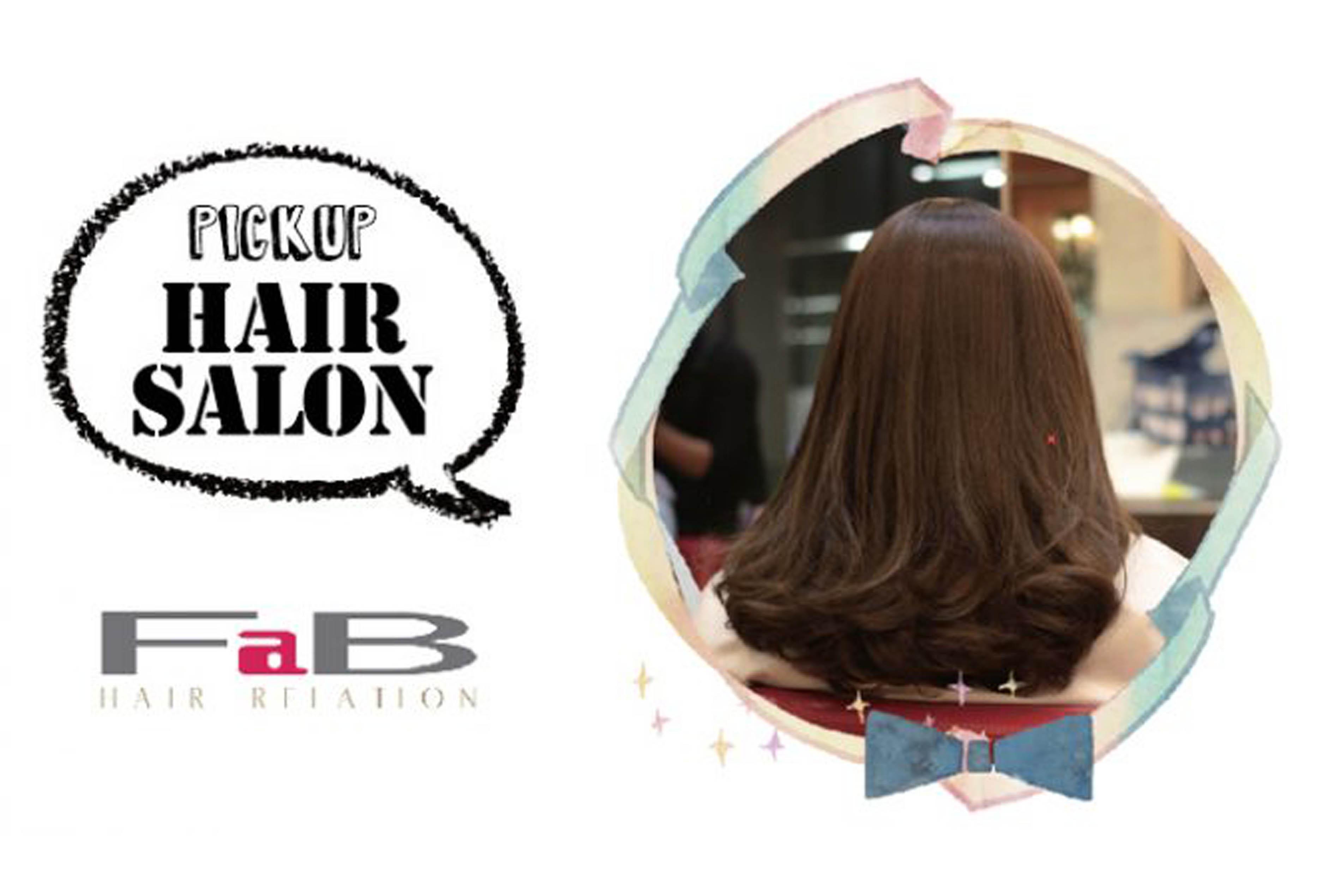 【PICK UP HAIR SALON】 FaB RELATION Bangkok