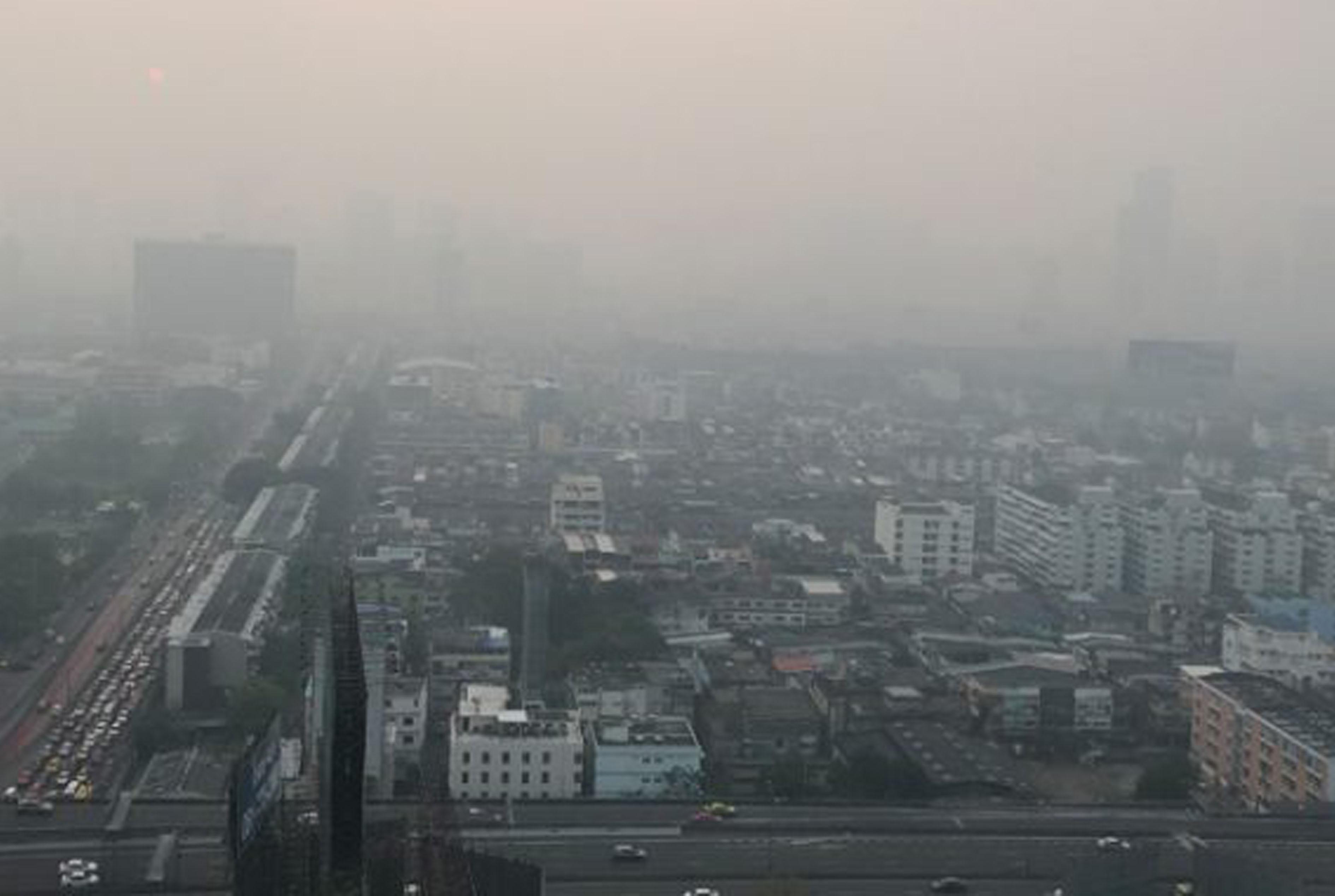 大気汚染が深刻化 - ワイズデジタル【タイで生活する人のための情報サイト】