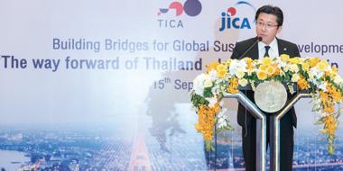 タイ外務省イベントにて、日タイ協力の強化をアピール