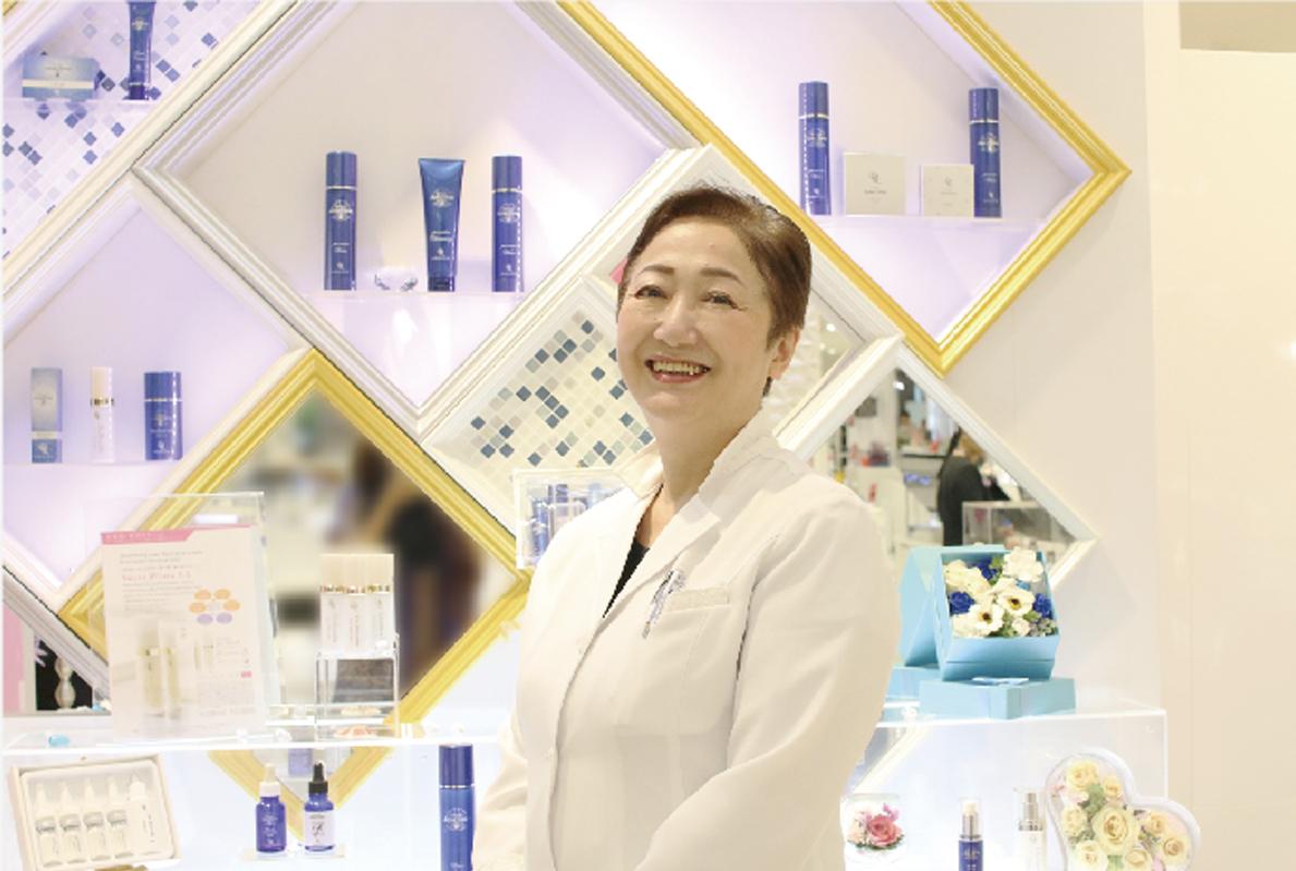 """""""みんなのキレイがやりがい"""" 美容業界37年、肌の専門家"""