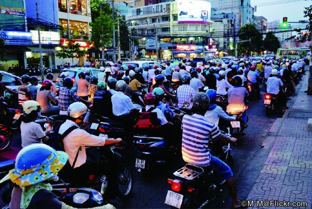 ベトナムに追い風