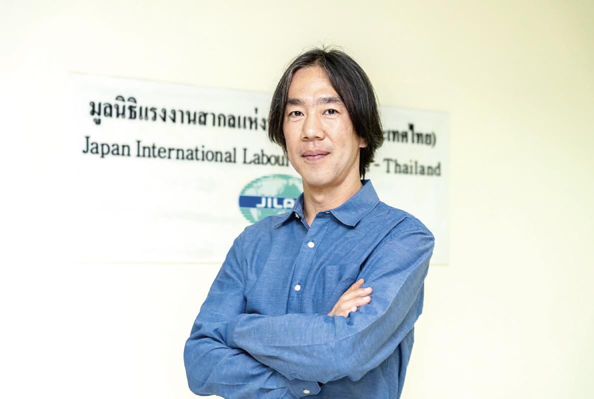 発展の裏に潜む格差に対峙 国際労働財団・タイ事務所所長