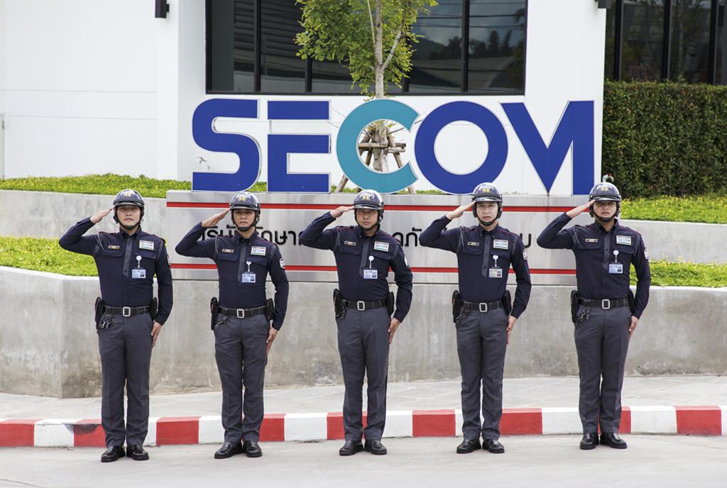 THAI SECOM SECURITY CO., LTD. - ワイズデジタル【タイで生活する人のための情報サイト】