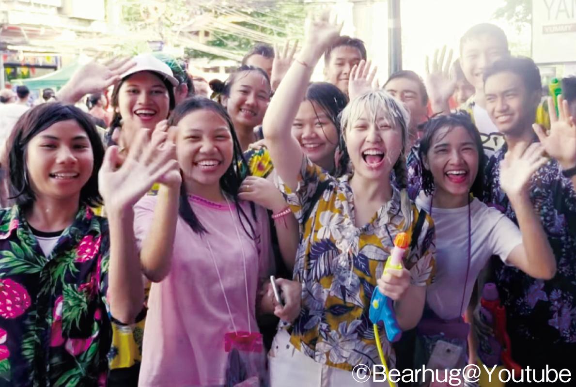 ソンクランに花柄を着る理由って? - ワイズデジタル【タイで生活する人のための情報サイト】