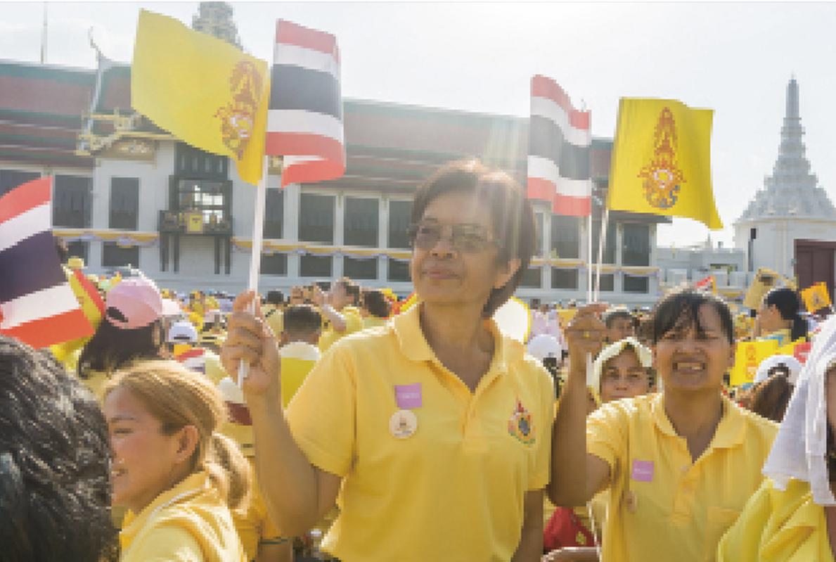 戴冠式を終えた国民の声 - ワイズデジタル【タイで生活する人のための情報サイト】