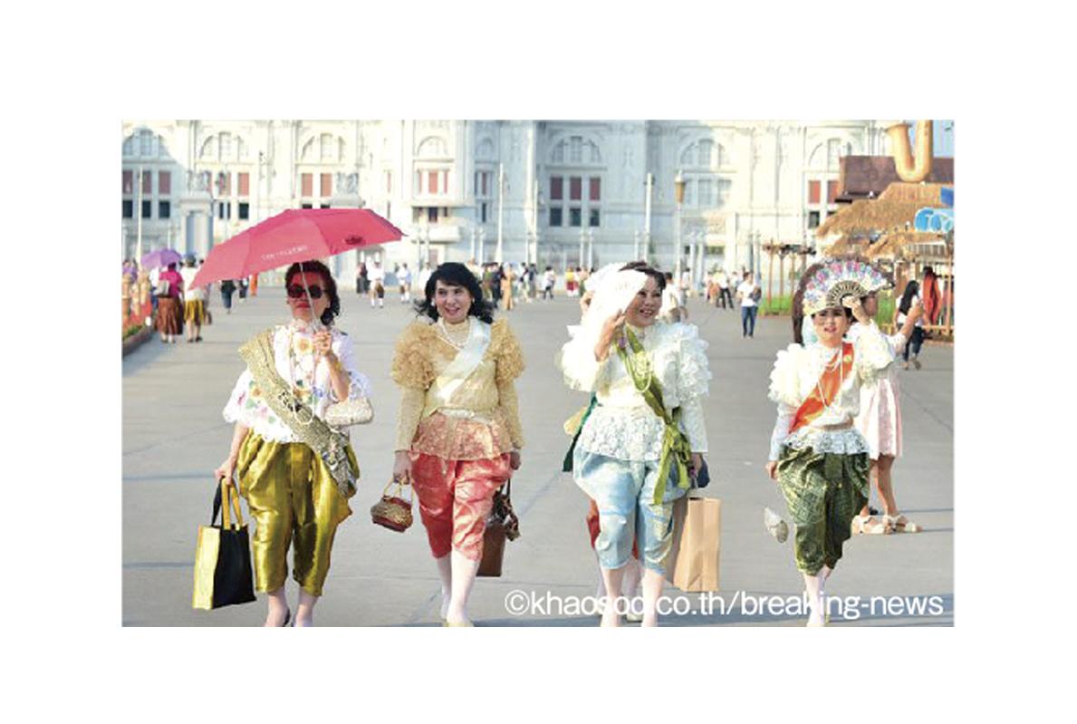 タイの伝統衣装 チョンカベーンって?