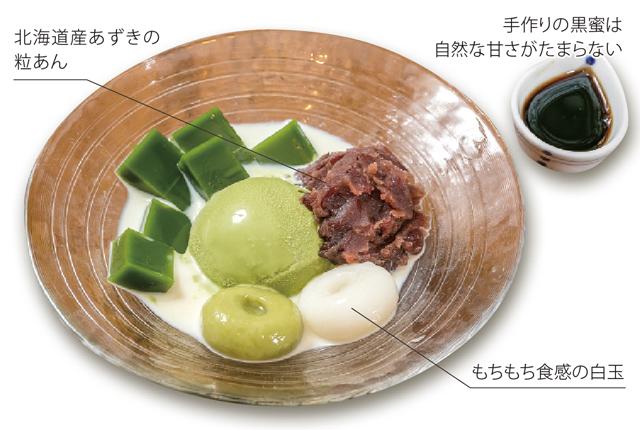 【みつもり】抹茶アイスのあんみつ 110B - ワイズデジタル【タイで生活する人のための情報サイト】
