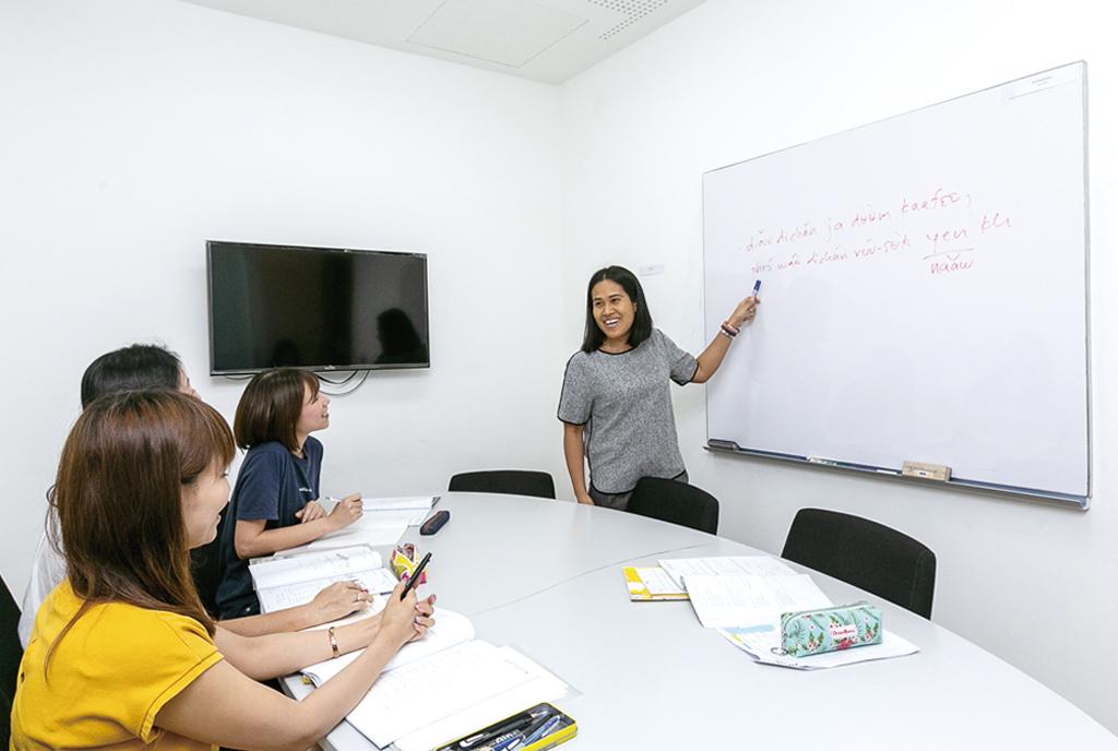 Phasorn Thai Language School - ワイズデジタル【タイで働く人のための情報サイト】