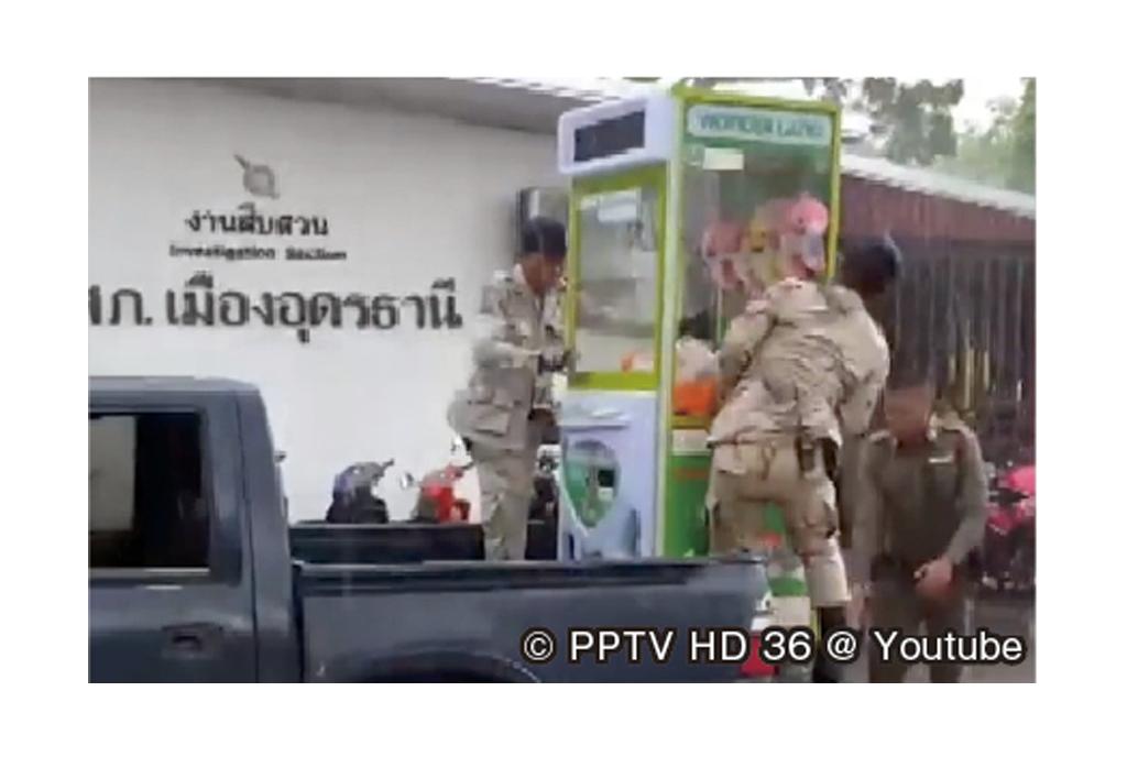クレーンゲーム機を撤去 - ワイズデジタル【タイで生活する人のための情報サイト】