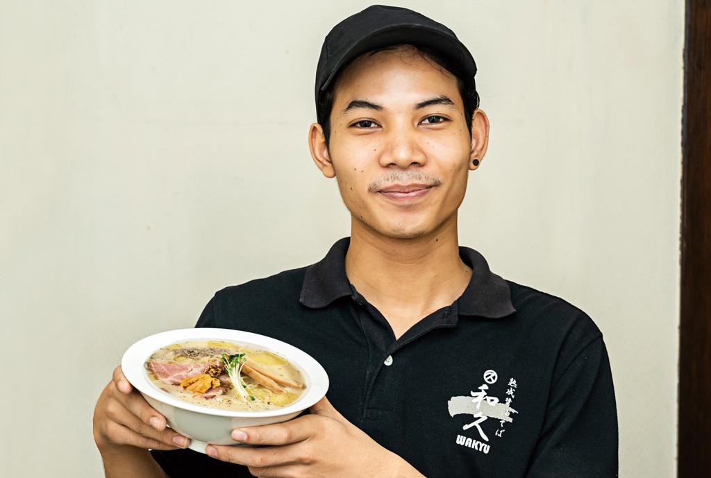 【和久】トリュフと生雲丹の 冷製鶏白湯 - ワイズデジタル【タイで生活する人のための情報サイト】