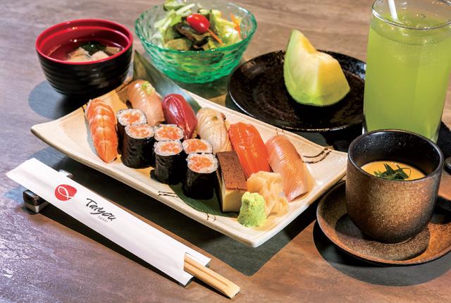 【Taiyou Sushi】寿司セット 390 Bath(税・サ込み) - ワイズデジタル【タイで生活する人のための情報サイト】