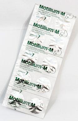 Motiliam-M - モティリウム・エム - 効能:吐き気、嘔吐 - 用法・用量:1日3回、1回1錠を食前に服用 - 情報:消化管運動を改善し、吐き気などの症状を抑えます - 価格目安:50B前後