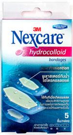 Nexcare hydrocolloid Bandages - ハイドロコロイド・バンデージ - 効能:湿潤療法ばんそうこう - 用法・用量:患部を清潔にし、創傷面にパッドを当てて貼ってください。浸出液が溢れ出しそうな時、絆創膏が剥がれかけてきた時が交換の目安です - 情報:乾いていない傷にお使いください。外用薬などは一緒に使用しないでください - 価格目安:180B前後