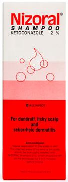 Nizoral Shampoo - ニゾラール・シャンプー - 効能:抗真菌配合シャンプー - 用法・用量:通常の洗髪時のシャンプーに置き換えて使用。3〜5分間放置した後、洗い流してください - 情報:使用後に異常を感じた場合、薬剤師または医師に相談してください - 価格目安:120B前後