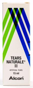Tears Natural Ⅱ® - ティアーズ・ナチュラル・ツー - 効能:目の渇きなど - 用法・用量:1回につき1〜2滴、1日3〜4回。他の目薬を使用する場合は約10分ほど間隔を空けて使用 - 情報:目の渇きや不快感を軽減する、涙の成分に近い点眼薬 - 価格目安:180B前