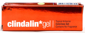 Clindarin Gel - クリンダリン・ゲル - 効能:ニキビ - 用法・用量:1日2回、清潔な状態にした患部に塗って使用 - 情報:炎症のあるニキビに - 価格目安:85B前後