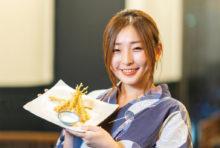 【羅豚里】名物 とうもろこしの天ぷら