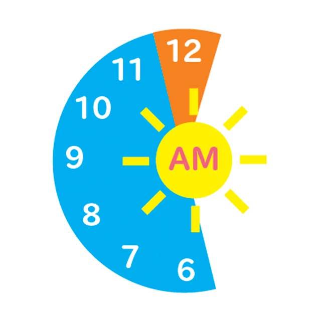 時間の表現