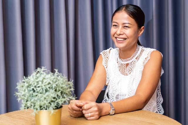 若宮リンナーさん/ 麗ちゃん(3)夫が日本人なので、日本語をしっかり学ばせたかったからですね。母と子の間ではタイ語で話す機会が多いのですが、同じくらい日本語も話せるようになってもらいたいですから。