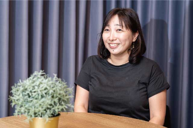 宮坂花子さん/颯真くん(5)園長先生を含めてアットホームな感じの印象で決めました。何より子どもが『ここが良い』と言ったことですね。家庭でも自主性を尊重しています。自ら考え、失敗したら軌道修正するくらいの子になってほしいですね。