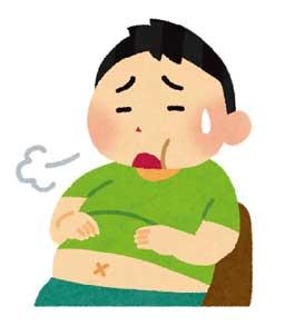 お腹いっぱいです อิ่มแล้วค่ะ/ครับ イ(ム) レー(オ) カ(ア)/クラッ(プ)