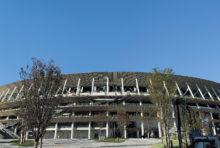 完成した杜のスタジアム