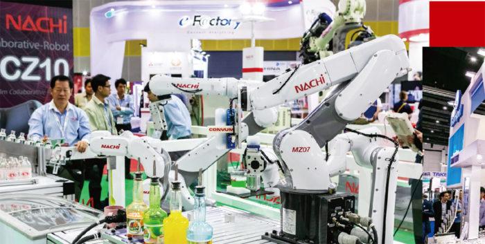 NACHI TECHNOLOGY (THAILAND) 「新たに開発したロボットや工具を通じて顧客の課題解決に努めます」