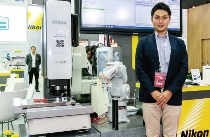 NIKON SALES (THAILAND) 「検査機にロボットを組み合わせるFAソリューションを提案します」