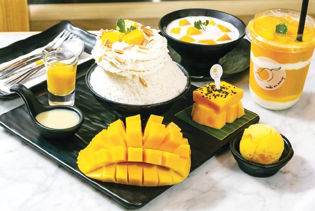 【Make me mango】Mango Bingsu(1〜2人前) 265 Bath - ワイズデジタル【タイで生活する人のための情報サイト】