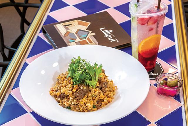 【Lilliput Premium Kids Café】Bulgogi Fried Rice(Beef/Pork)350 Baht - ワイズデジタル【タイで生活する人のための情報サイト】