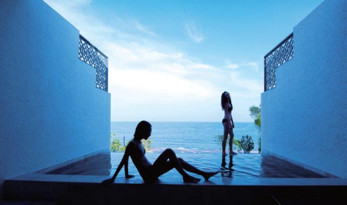 プライベートプールから望む海はあなただけのもの Baba Beach Club Hua Hin ババ・ビーチ・クラブ・ホアヒン