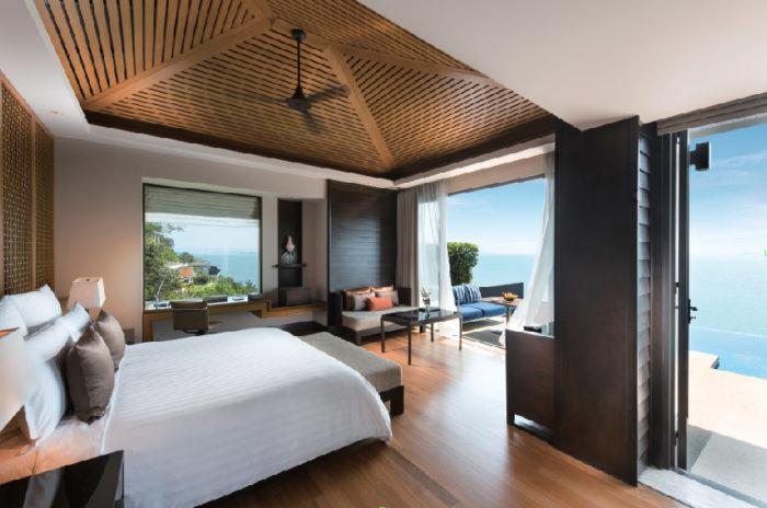 全ての部屋にはテラスやプライベートプール付き Conrad Koh Samui コンラッド・コ・サムイ