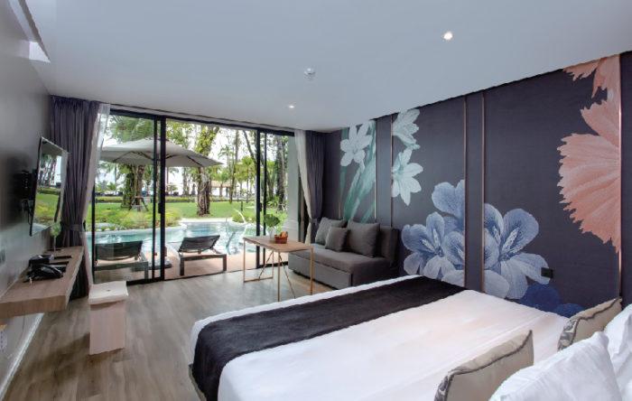 客室専用プール付きのモダンな客室 La Flora Khao Lak ラ・フローラ・カオ・ラック