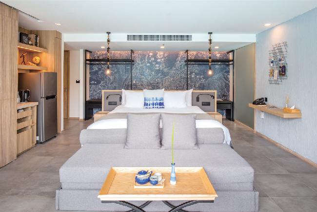 個性豊かな6種の部屋を提供(写真は「Deluxe Room」)La Vela Khao Lak ラ・ベラ・カオ・ラック