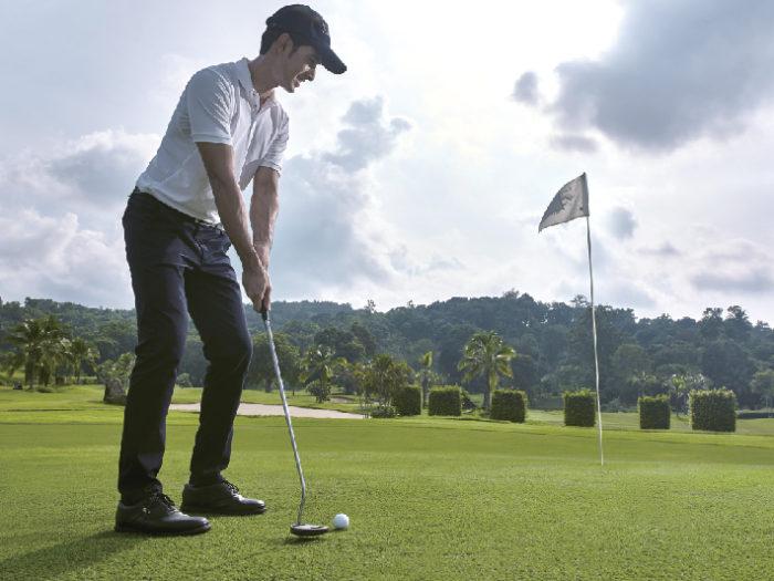 海が望めるゴルフ場を敷地内に完備 Sofitel Krabi Phokeethra Golf & Spa Resort ソフィテル・クラビ・ポーキートラー・ゴルフ&スパリゾート